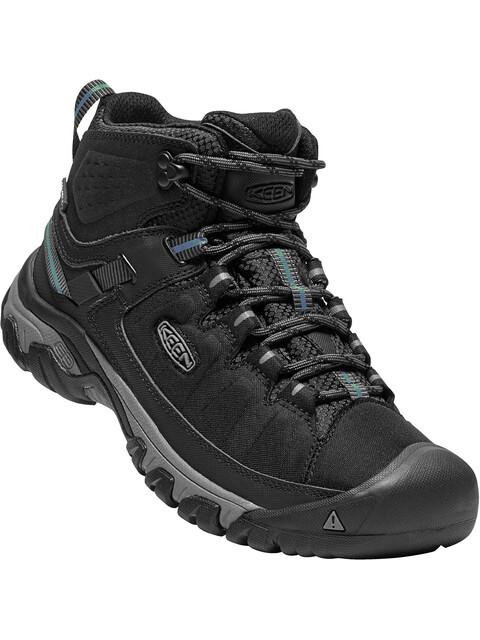 Keen Targhee EXP WP Mid Shoes Men black/steel grey